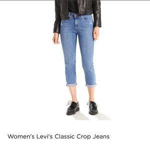 Levi's Jeans - Levi's classic cropped jeans size 16